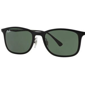 Ray-Ban RB4225 Square Sunglasses, Matte Brown